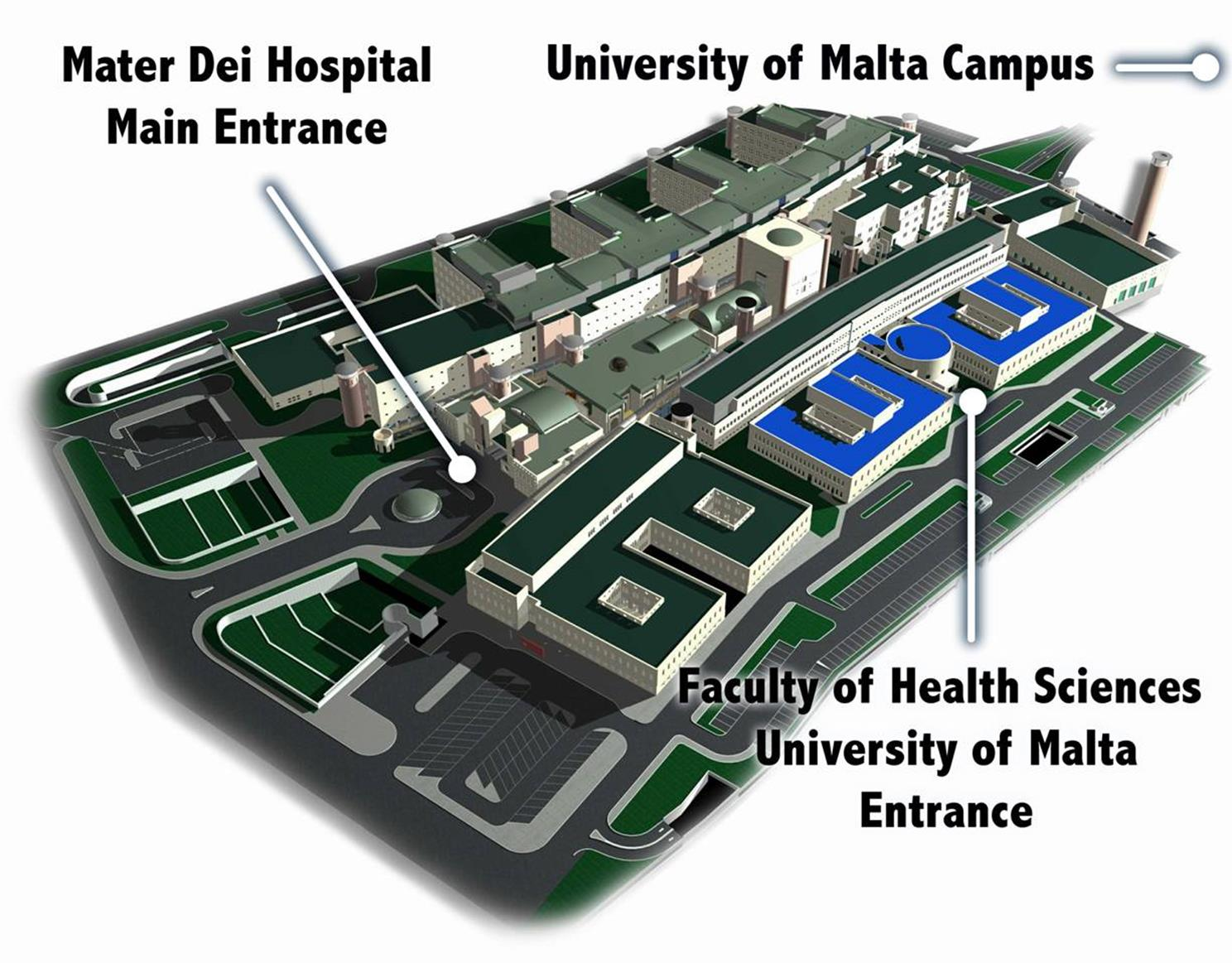 Mater-Dei-Hospital-with-Faculty-of-Medicine